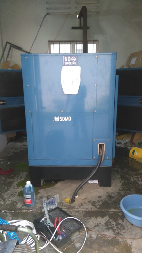 Maintenance and maintenance of generators in District Binh Tan, Ho Chi Minh City