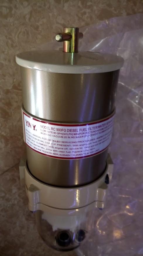 Lọc dầu tách nước cho máy phát điện dưới 500 Kva