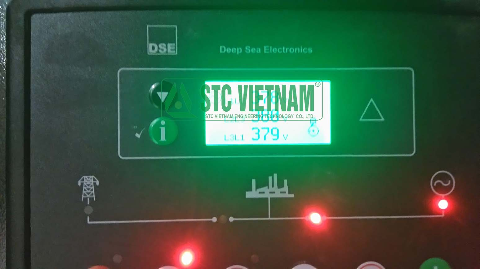 Thử tải máy phát điện 400 Kva