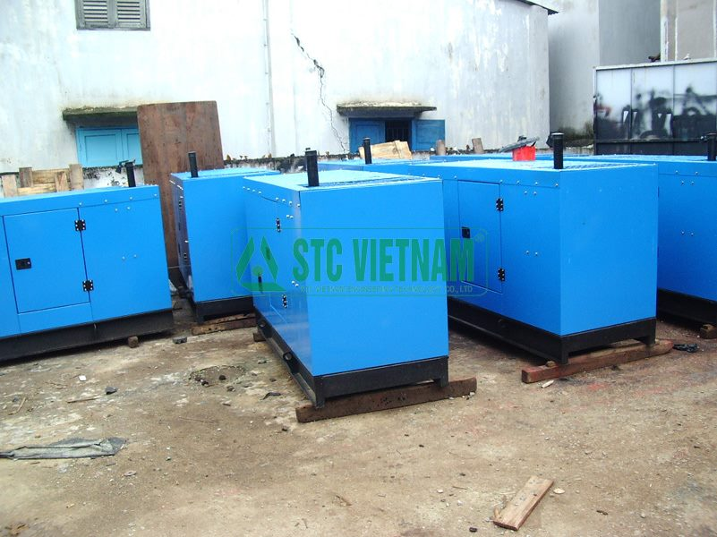 Silent Box Generator 250 Kva