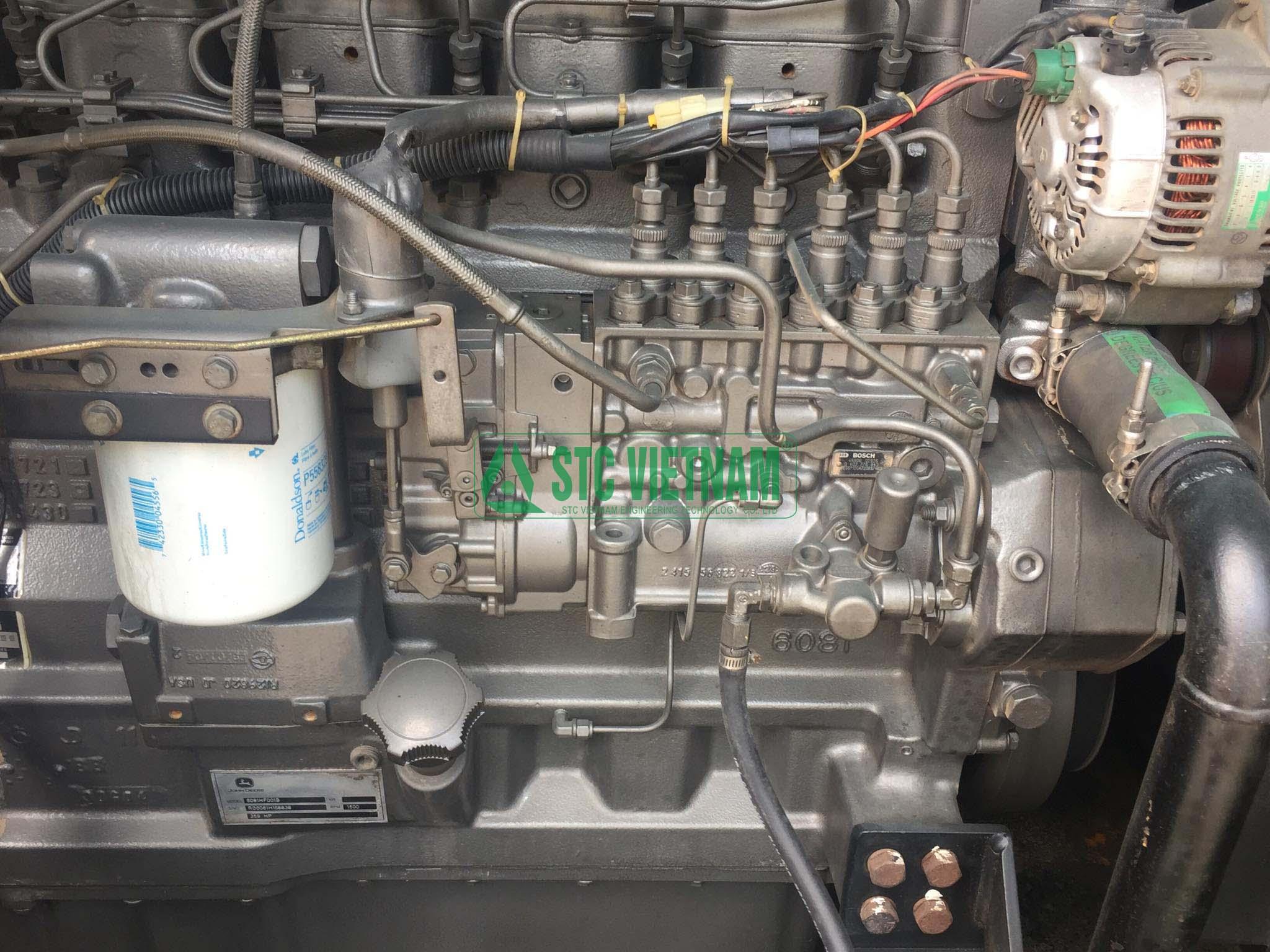 Máy phát điện cũ Johndeere 250 Kva