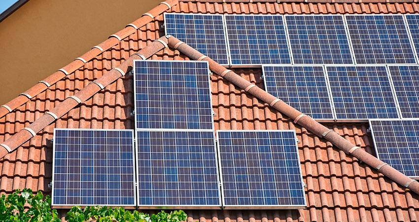Household solar power 5.6 KW