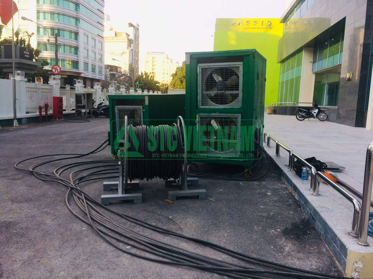 Rental of fake load generator 825 Kva