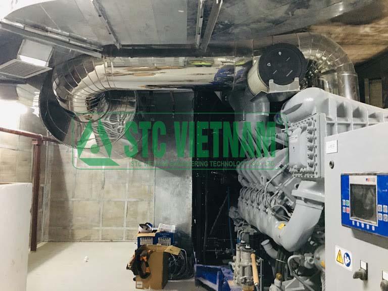 Soundproofing room generator MTU 2300 Kva 65Dba @ 2M