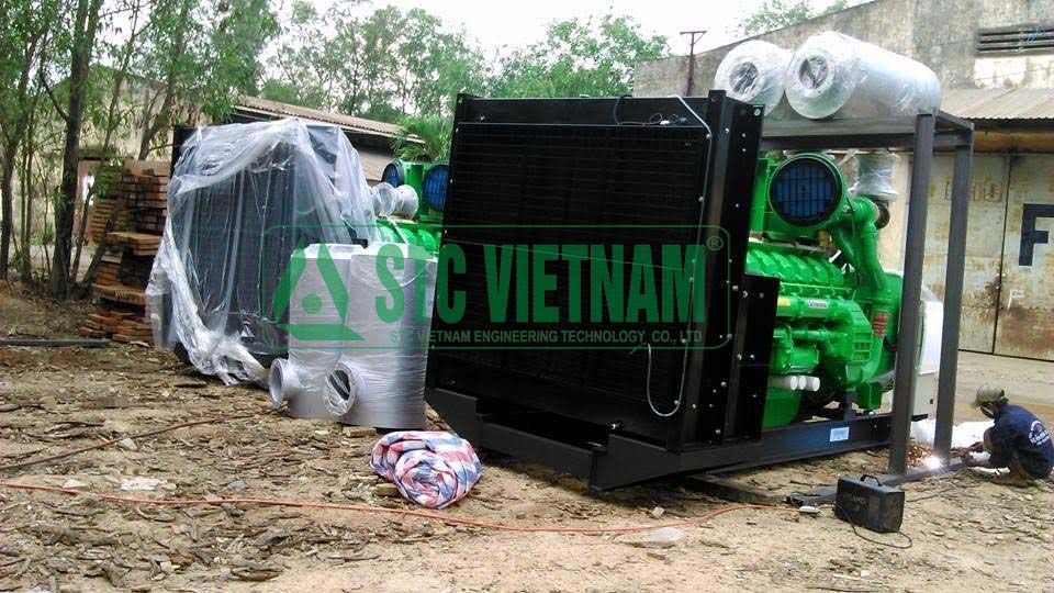 Transport, relocation and installation of generators in BinhDuong