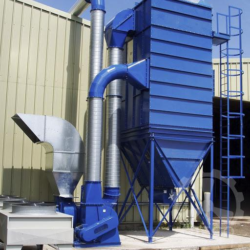Dust filtration system for the factory
