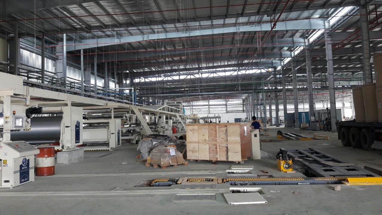 Dây chuyền sản xuất thang máng cáp, tủ điện